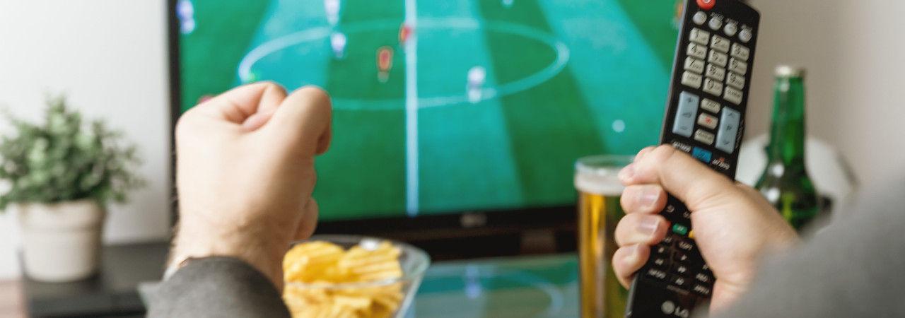 Antena TV Interior Amplificada para Televisión